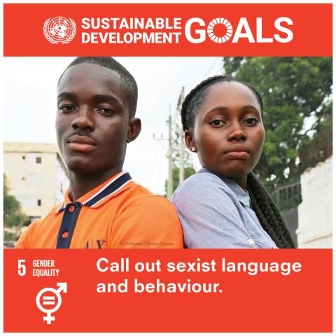 Goal 5 Parità di genere