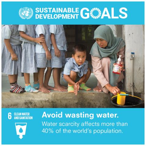 Goal 6 Acqua pulita e servizi igienico-sanitari