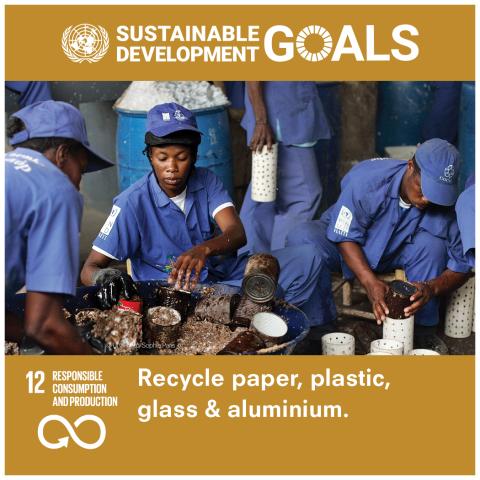 Goal 12 Consumo e produzione responsabili